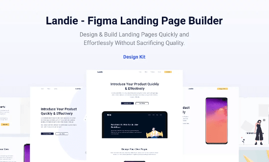 landing page builder for Figma