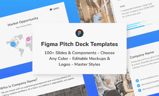 Slide deck templates