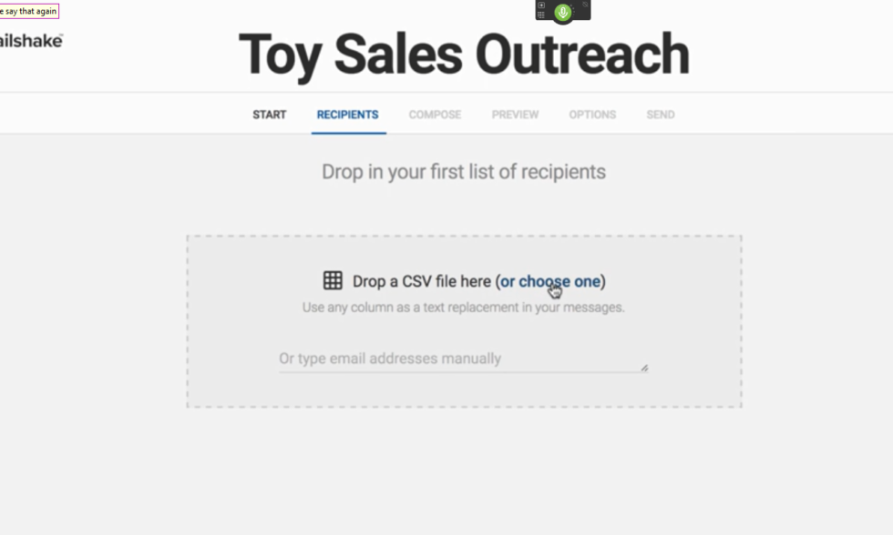 outreach UI