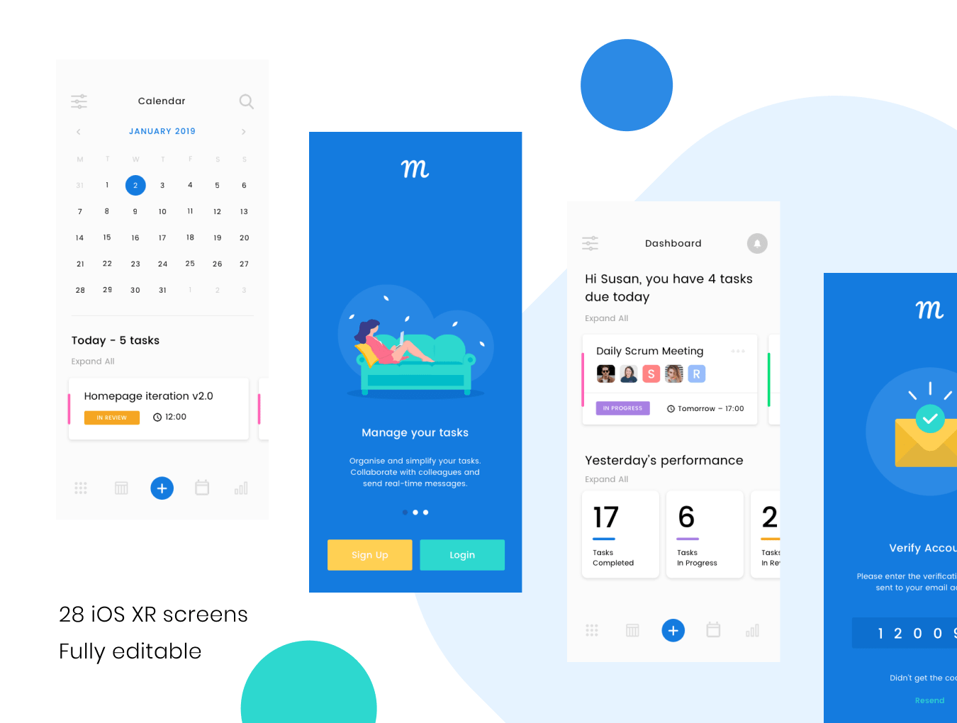 UI kit task management
