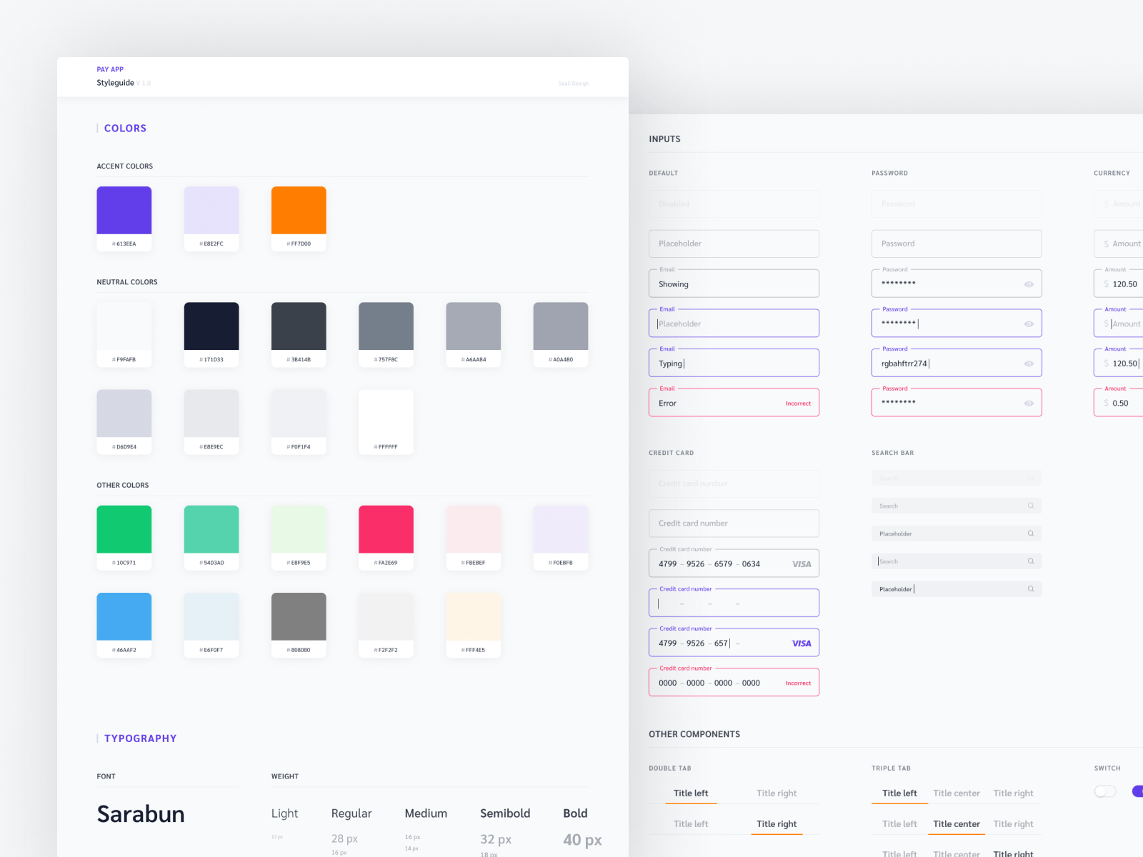 Figma UI kit