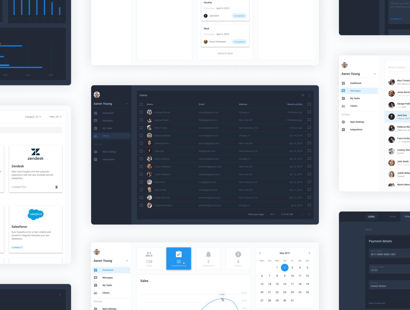 Material design UI kit Figma