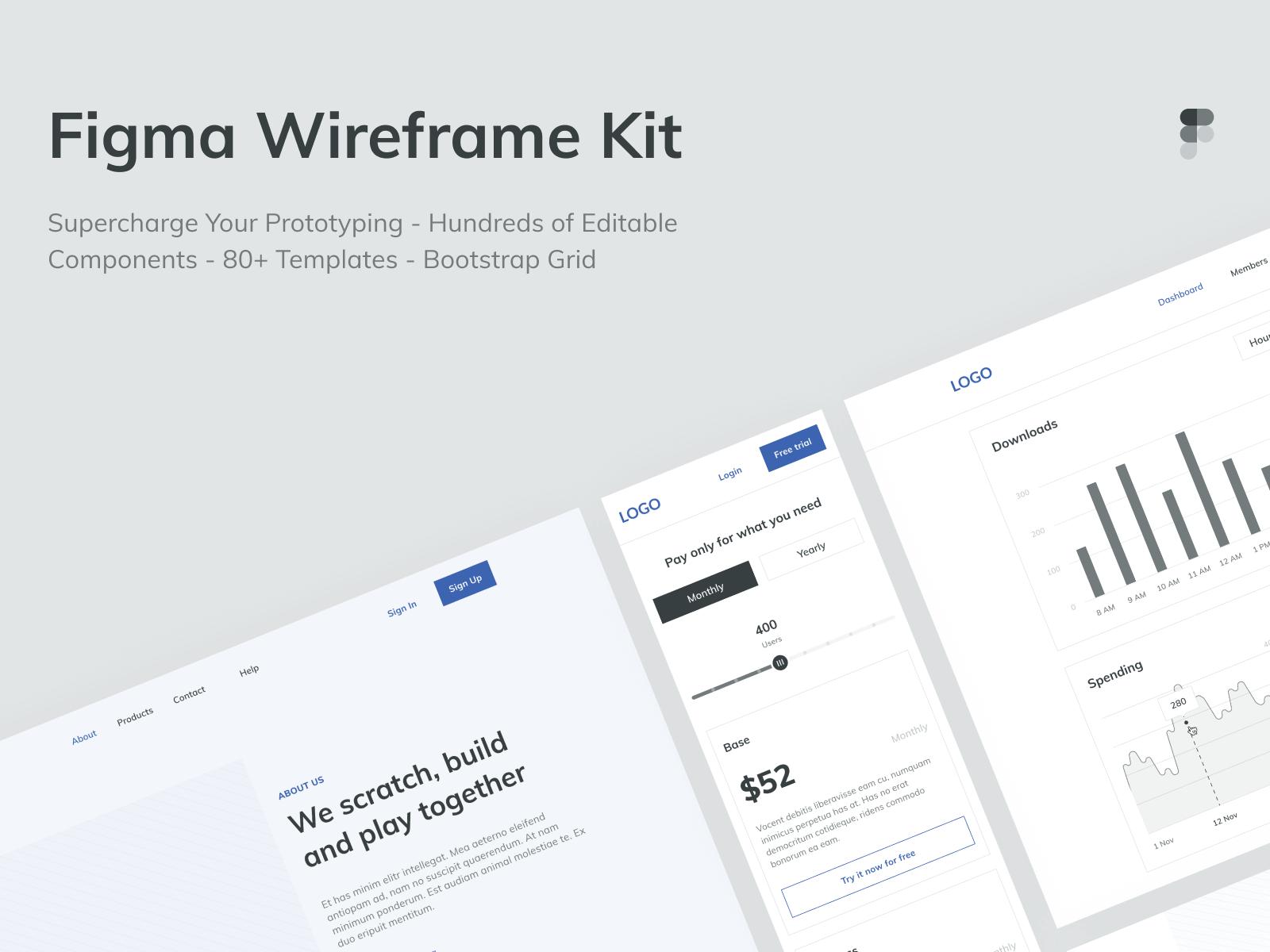 wireframes figma