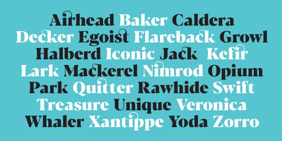 blacker typography