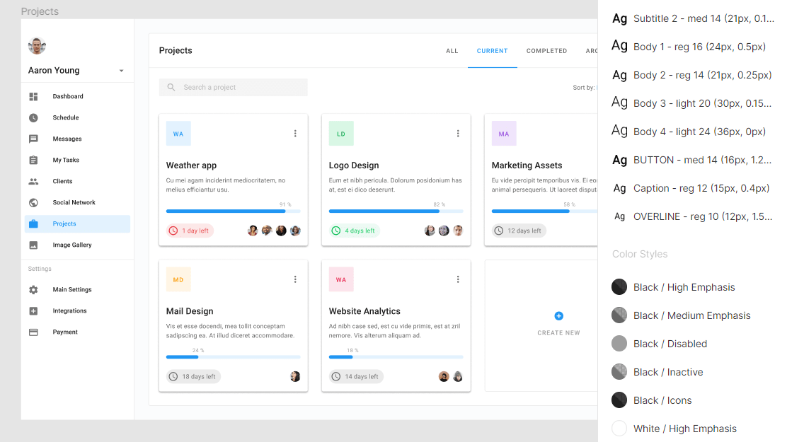 Massive Library of Material Design UI Components & Styles