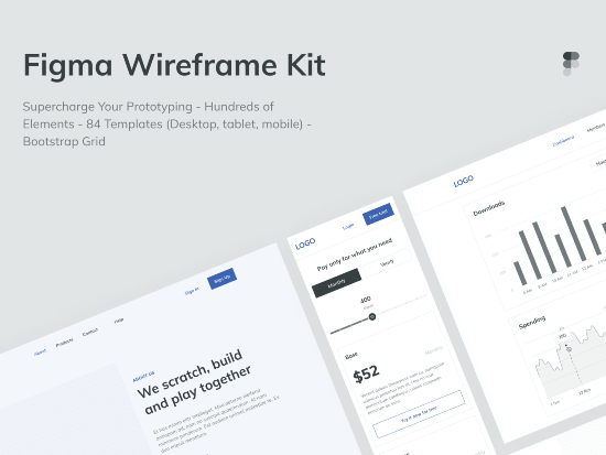 figma wireframe kit